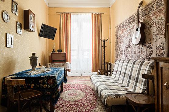 Communal Apartment, Hotel Tsentralnaya, Odessa