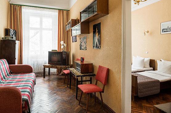 Retro 60-70s, Hotel Tsentralnaya, Odessa