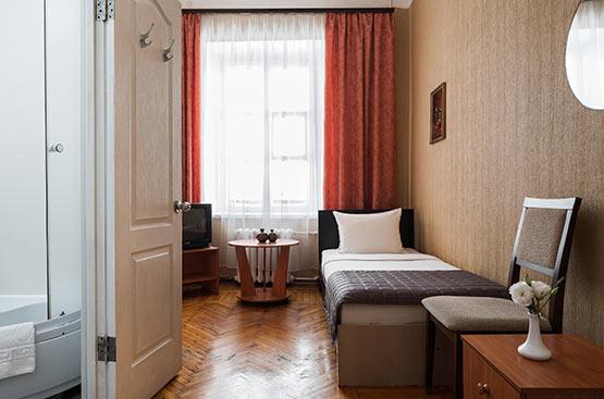 Economy Single, Hotel Tsentralnaya, Odessa
