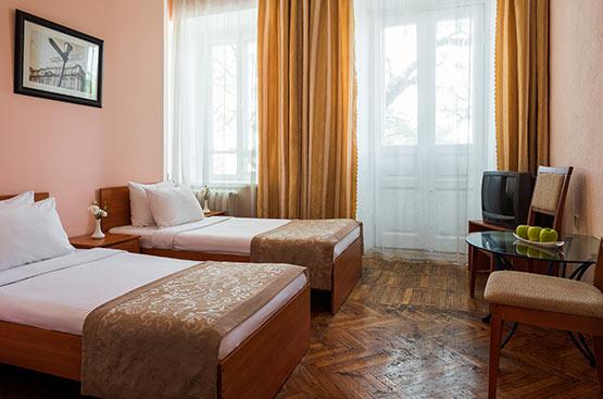 Эконом двухместный, Отель Центральная, Одесса